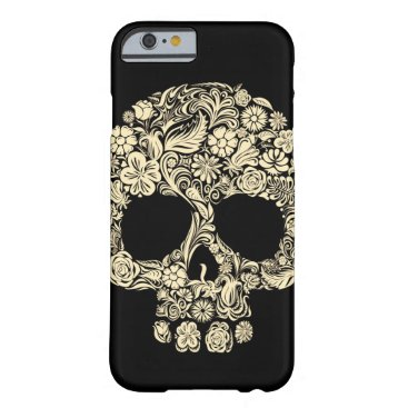Vintage Floral Sugar Skull iPhone 6 Case