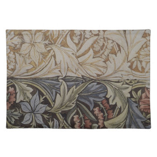 Vintage Floral Tapestry Antique Fabric Pattern Cloth Placemat
