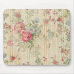 Vintage floral tapete de ratones