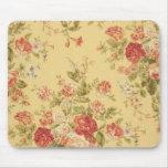 vintage floral tapetes de raton