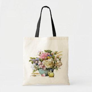 Vintage floral Travel Bags