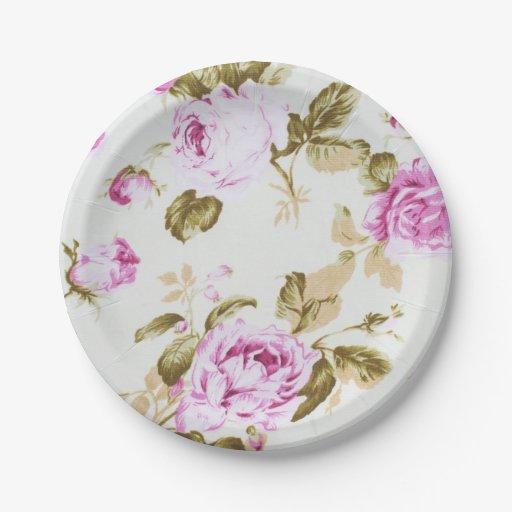 vintage flower paper plates  sc 1 st  Best resumes and templates for your business & vintage flower paper plates - Ideal.vistalist.co