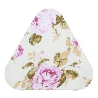 Vintage,floral,victorian,lavender,white,shabby Speaker