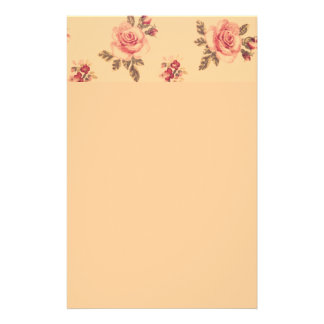 Vintage floral victorian noveau art girly cute fun stationery