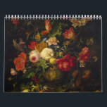 """Vintage Floral Victorian Oil Paintings, 2018 Calendar<br><div class=""""desc"""">Give the gift of vintage art with this Vintage Floral Victorian Oil Paintings 2018 Calendar. Makes a great accent to any room and for anyone with a victorian decor. Each month is a different floral painting that are framable in and of themselves. Makes a great gift!</div>"""