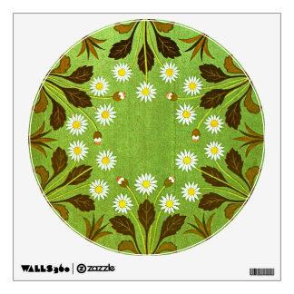 Vintage floral vinilo adhesivo