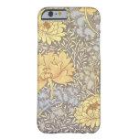 Vintage Floral Wallpaper Chrysanthemums iPhone 6 Case