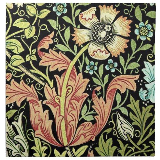 Vintage Floral Wallpaper Cloth Napkin