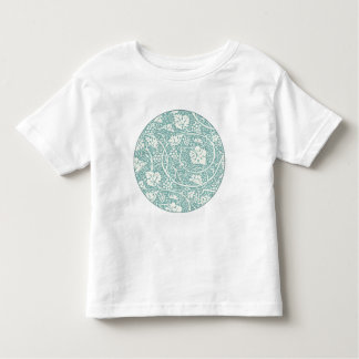 Vintage Floral Wallpaper Grape Pattern Toddler T-shirt