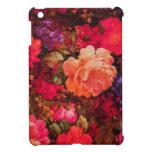Vintage Floral Wallpaper Pattern iPad Mini Case