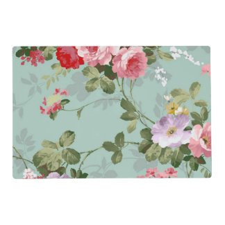 Vintage Floral Wallpaper Placemat