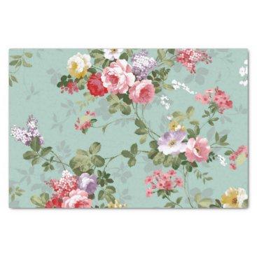 KraftyKays Vintage Floral Wallpaper Tissue Paper