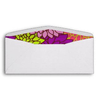 Vintage Floral Wallpapper Envelope