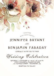 Vintage Wedding Invitations | Zazzle