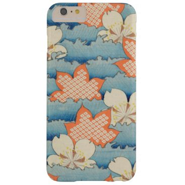 Beach Themed Vintage Floral Waves Barely There iPhone 6 Plus Case