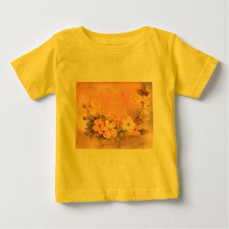 Vintage Floral Wild Roses Infant T-Shirt