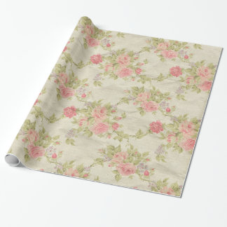 Vintage Floral Wrapping Paper