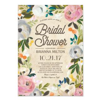 Vintage Florals | Bridal Shower Invitation