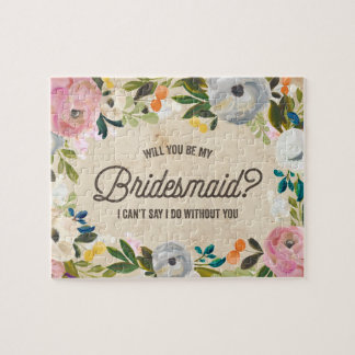 Vintage Florals   Bridesmaid Puzzle