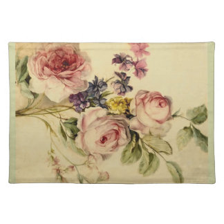 Vintage Florals from 18th Century Cloth Placemat