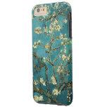 Vintage floreciente del árbol de almendra de Van Funda De iPhone 6 Plus Tough
