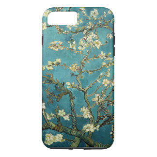 Vintage floreciente del árbol de almendra de Van Funda iPhone 7 Plus