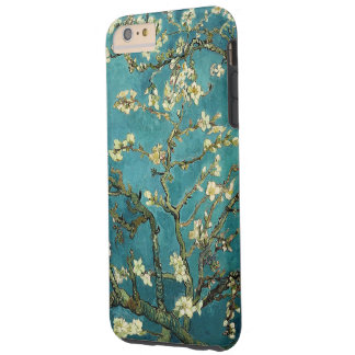 Vintage floreciente del árbol de almendra de Van Funda Para iPhone 6 Plus Tough