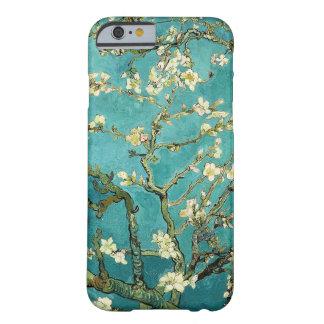 Vintage floreciente Van Gogh floral del árbol de Funda Barely There iPhone 6
