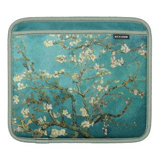Vintage floreciente Van Gogh floral del árbol de Fundas Para iPads
