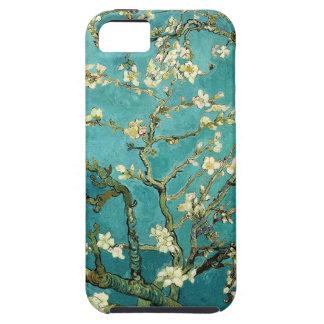 Vintage floreciente Van Gogh floral del árbol de iPhone 5 Carcasa