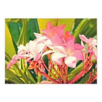 Vintage flores card