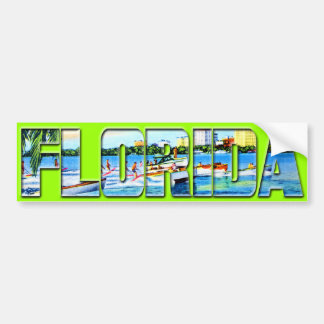 Vintage Florida Bumper Sticker
