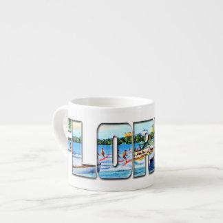Vintage Florida Espresso Cup