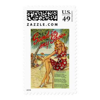 Vintage Florida, USA - Postage Stamp