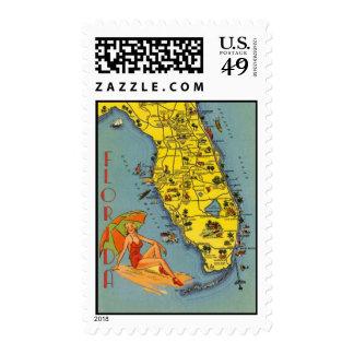 Vintage Florida, USA - Stamps