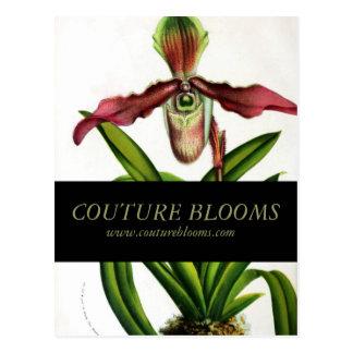 Vintage Florist Business Opening Announcement Card