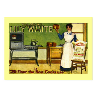 VINTAGE FLOUR ADVERTISING KITCHEN GIFT TAG CARDS BUSINESS CARD TEMPLATE