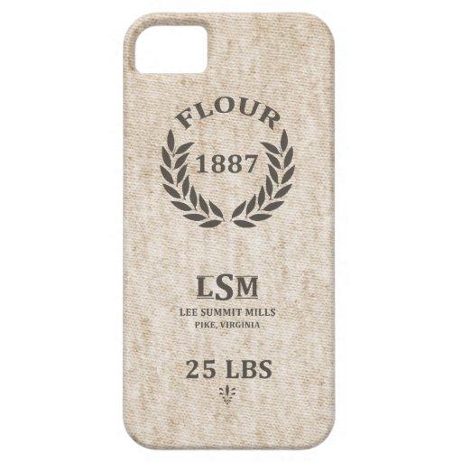 Vintage Flour Sack iPhone 5 Case