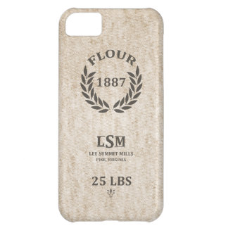 Vintage Flour Sack iPhone 5C Case