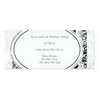 Vintage Flourish Bachelorette Party Invitation