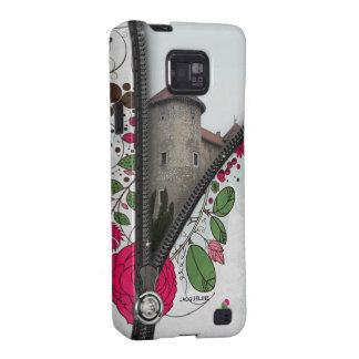 Vintage Flower Add Photo Samsung Case Galaxy S2 Cover