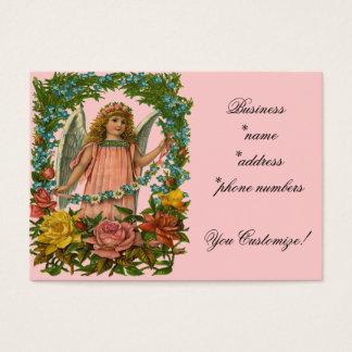 Vintage *Flower Angel* Business Cards