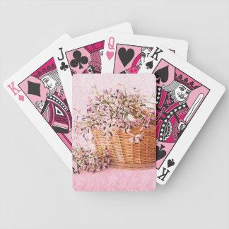 Vintage Flower Basket Bicycle® Poker Playing Cards