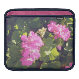 Vintage Flower Blossoms iPad Sleeves