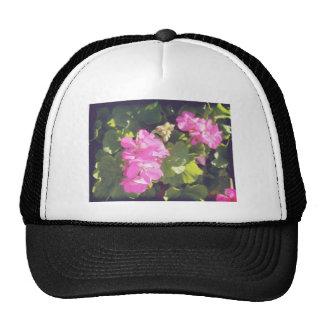 Vintage Flower Blossoms Trucker Hat