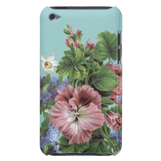 Vintage Flower Bouquet Barely There iPod Case