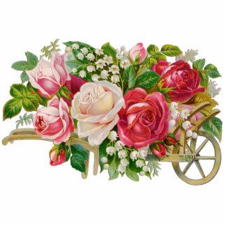 Vintage Flower Cart Photo Sculpture