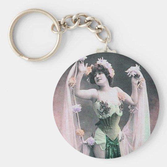 *Vintage Flower Dancer* Keychain