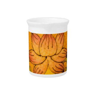 Vintage Flower design Drink Pitchers
