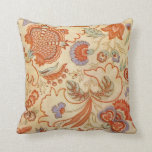 Vintage Flower Fabric Pillow